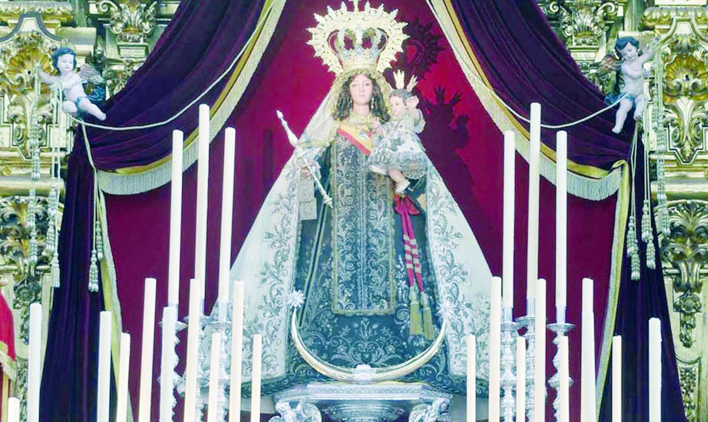 Tres predicadores en la novena del Centenario del Patronazgo de la Virgen del Carmen
