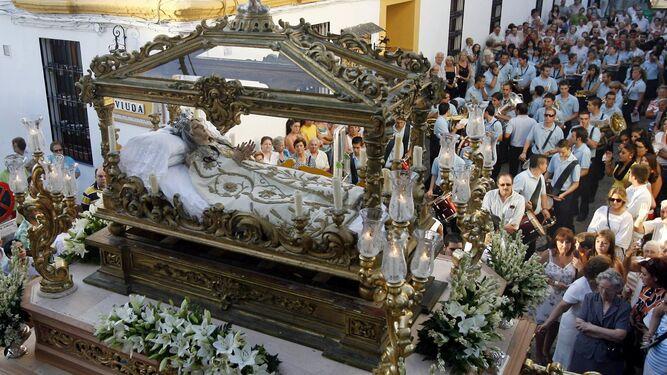 La Virgen del Tránsito saldrá a la puerta de su iglesia