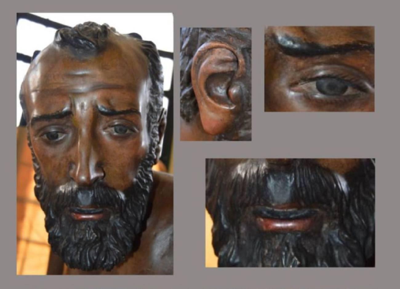 La Esperanza de Triana restaura las imágenes secundarias de su paso de misterio